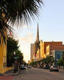 King Street, Historic Charleston, SC. Royalty Free Stock Photography