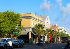 King Street, Historic Charleston, SC. Royalty Free Stock Photos