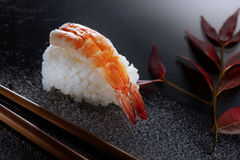 The King of Sushi stock image