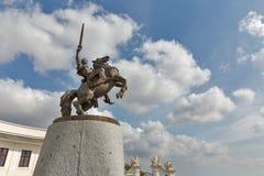 King Svatopluk Statue In Bratislava Castle, Slovakia. Stock Photos