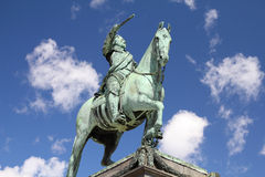 King of Sweden Royalty Free Stock Photos