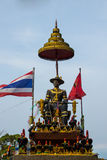 King Taksin of monument. In Thailand Royalty Free Stock Photography