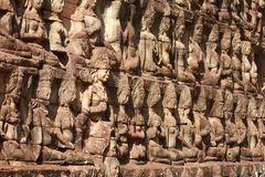 King terrace in Angkor Thom Royalty Free Stock Photos