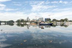 King Tide Royalty Free Stock Photography