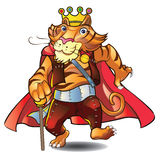 King Tiger Royalty Free Stock Photography