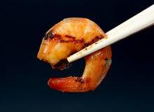Free King Tiger Prawn Shrimp Isolated On Dark Background Royalty Free Stock Photography - 1538357