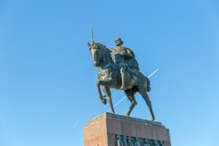 King Tomislav monument Royalty Free Stock Photos