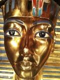 King tut surcophigus. King Tut exibit showcasing King Tutankhamun sarcophagus Stock Image