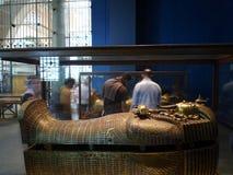 King Tuthankamon. Golden coffin of the egyptian pharaon Tuthankamon Royalty Free Stock Image