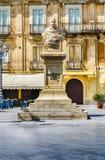 King Umberto I Monument Stock Photo
