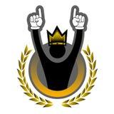 King victory royalty free illustration