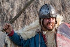 King warrior Stock Photography