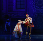 """The king was fascinated- ballet """"One Thousand and One Nights"""". Ballet One Thousand and One Nights is based on the fairy tale with the same name in the Arabic Stock Image"""