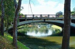 King William Road Bridge, Adelaide, South Australia. Stock Photography