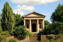 King William's Temple In Kew Gardens Stock Photos