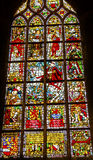 King William Stained Glass New Cathedral Kerk Delft Netherlands Stock Photography