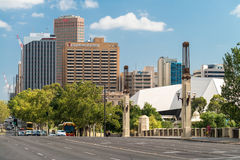 King Willian street, Adelaide Stock Images