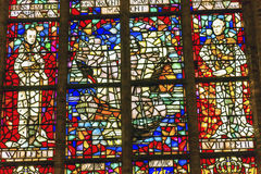 King Williem 1 II Stained Glass New Cathedral Delft Netherlands Royalty Free Stock Photo