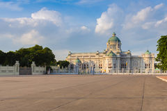 The King working place name Anantasamakom throne hall,  Thailand Royalty Free Stock Photography