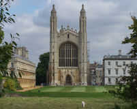 King& x27;s College in Cambridge Stock Photography