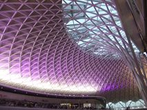 King's Cross March 2012 Royalty Free Stock Photo