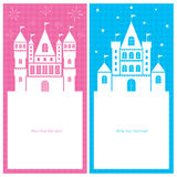 Kingdom card invitation Stock Image
