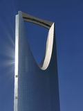 Kingdom centre in riyadh Royalty Free Stock Image