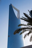 Kingdom centre tower. In Riyadh, Saudi Arabia. 303 meters Stock Images