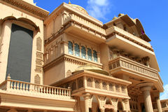 Kingdom of dreams. Front side of kingdon of dreams building in gurgaon in india stock photography