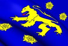Kingdom of Dyfed Flag 410-920 Royalty Free Stock Photo