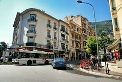 The Kingdom of Monaco Stock Photography