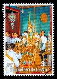 Kingdom Of Thailand Postage Stamp Royalty Free Stock Photo