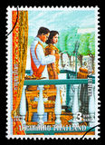 Kingdom Of Thailand Postage Stamp Royalty Free Stock Image