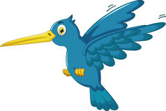 Kingfisher cartoon flying. Illustration of kingfisher cartoon flying Stock Images