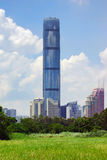 Kingkey 100 Building in Shenzhen China Royalty Free Stock Photos