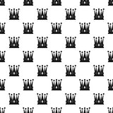 Kingly crown pattern vector Stock Photo