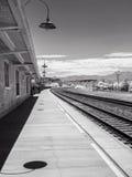 Kingman, Arizona-Eisenbahndepot Stockbild
