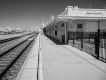 Kingman, Arizona railroad station Stock Photography