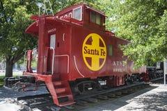 Kingman, AZ, παλαιός θόλος σιδηροδρόμου Σάντα Φε caboose Στοκ φωτογραφία με δικαίωμα ελεύθερης χρήσης