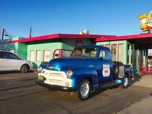 Kingman, Route 66 histórico, restaurante favorito, o Arizona imagens de stock royalty free