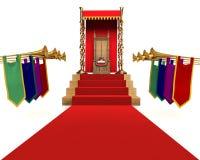 KingQueen voor een Dag royalty-vrije illustratie