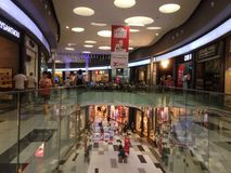 Kings Avenue Mall at Paphos City, Cypus Stock Photography