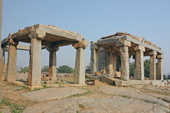 The kings balance, Hampi Royalty Free Stock Photography