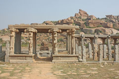 The kings balance, Hampi Royalty Free Stock Image