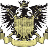 Kings Blackbird Crest Stock Photo