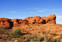 Kings Canyon. Desert in Australia Royalty Free Stock Photography