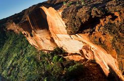 Kings Canyon. In Watarrka National Park in Australia Royalty Free Stock Photography