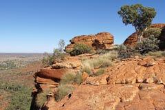 Kings Canyon, Australia Royalty Free Stock Photography
