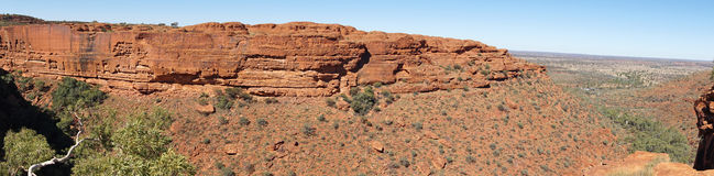 Northern Territory, Australia. Landscape of the Kings Canyon, Outback of Northern Territory, Australia Royalty Free Stock Photos