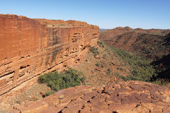 Northern Territory, Australia. Landscape of the Kings Canyon, Outback of Northern Territory, Australia royalty free stock images